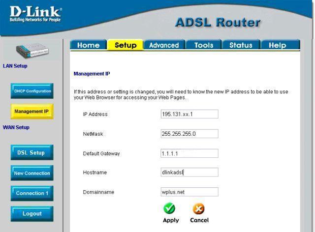 ADSL модем D-Link DSL-500T
